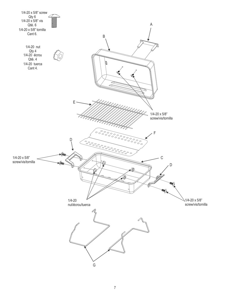 view schematic warranty information - Char Broil Gas Grill Parts