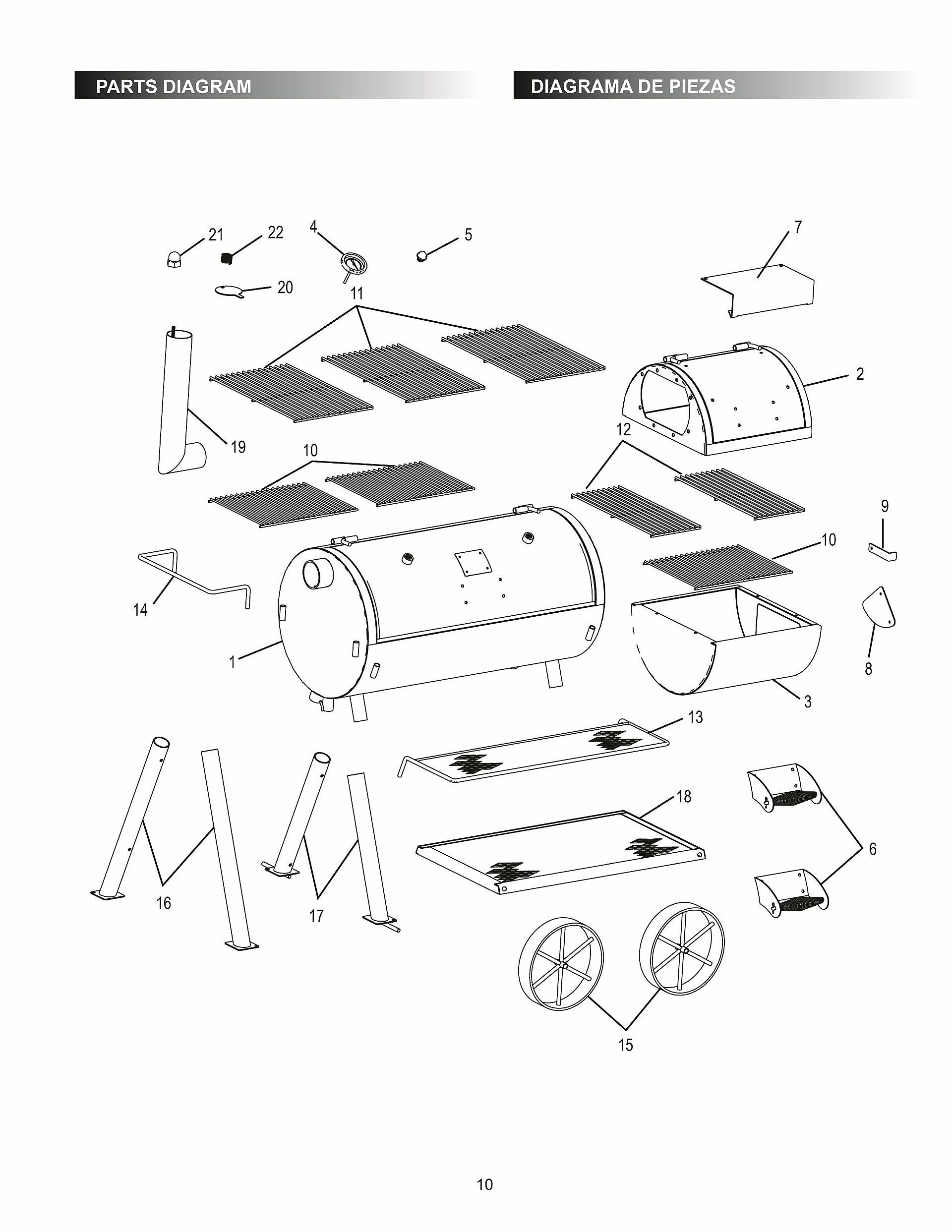 Traeger Parts Texas Schematic - 365 Diagrams Online